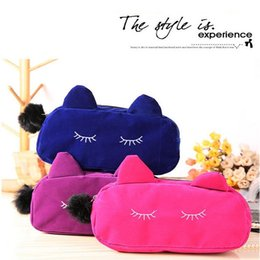 Wholesale Fold Up Purse - Wholesale- Cosmetic Case Travel Makeup bags Toiletry Hanging Purse Holder Beauty Wash Make Up Bags Organizer With Hook A0697