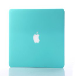 Wholesale Macbook Pro Rubberized Cases - Rubberized Frosted Matte Hard Shell Laptop Cases Full Body Protece Cover For Apple Macbook Air Pro 11''