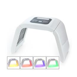 Wholesale Led Light Therapy Tighten Skin - Omega Light LED Skin Care Therapy machine 4 Color Led Pdt Omega Light beauty item