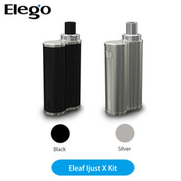 Wholesale Pico Battery - Authentic Eleaf iJust X Kit 7ml Capacity Works Max 50W and 3000mAh Battery Free Shipping with iJust S vs Hottest iStick Pico