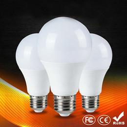 Globo led lâmpada a19 on-line-A19 A60 Lâmpadas LED E27 Globo Lâmpadas Luzes 3W SMD2835 Lâmpadas LED Quente / Branco Puro Super Lâmpada Luz de poupança de energia