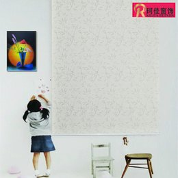 Wholesale Roller Free Shipping - Wholesale-free shipping high quality elegant clear printing transparent roller blinds the curtains in the living rooms and window blinds