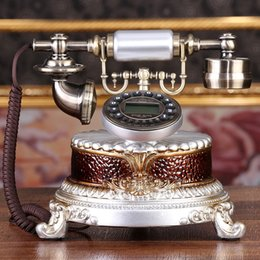 Wholesale Telephones Antique Vintage Style - new type field European-style American fashion originality telephone antique European style Vintage telephone home office fixed telephone