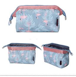 Wholesale Travel Jewel - 100pcs 19*13*10cm 4Design Big Capacity Cosmetic Case Ladies Makeup Bag Crown Jewels and Sailing Travel Bags Women Accessories Cas