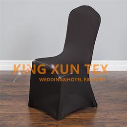 Дешевые свадьба крышка стула \ лайкра спандекс крышка стула для банкета украшения событий много цветов выбрать для вас от