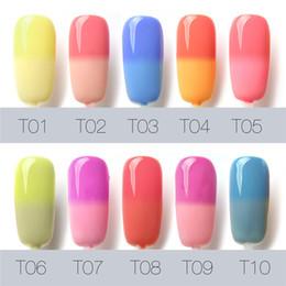 Wholesale Gel Nails For Sale - Hot Sales FOCALLURE I'M GEL Polish Temperature Change Nail Gel 30 colors lQQ Gel 7ml Beauty for Women