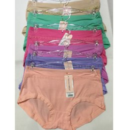Wholesale Modal Knickers - One Size Women's Underwear comfortable Stretchy Soft Modal High Middle Waist Cotton Briefs Panties Thongs Lingerie Knickers Bikini Underpant