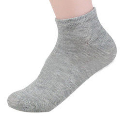 Wholesale Sexy Beautiful Womens - Wholesale- Stylish Winter Grey sexy Cotton Womens Ultrathin Beautiful Casual Elastic Short Socks For lady warm sock girls