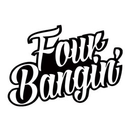 Wholesale Cars Boost - Four Bangin Decal Jdm Car Styling Interesting Vinyl Racing Window Car Stickers Boost Truck Decorate Art