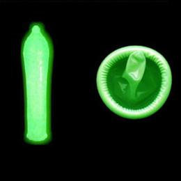 Wholesale Sex Glow Dark - Fluorescence Condoms Special Condoms Noctilucent 3 Glow In The Dark 4 Ultra-thin Condoms Sex Product