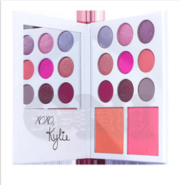 Wholesale 2017 New kylie valentine s diary eyeshadow THE DAIRY PALETTE eye shadow blush colors eyeshadow palette kylie jenner makeup palette