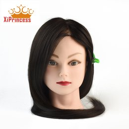 Wholesale Cheap Synthetic Wigs For Women - Cheap Price Synthetic hair Mannequin head for hair braiding