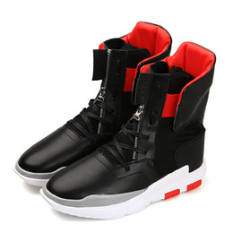 Wholesale Black Patent Leather 37 - New Winter Boots Men Fashion Lace Up Male Ankle Boots Genuine Leather Warm Cowhide Men's Snow Boots Plus Size 37-50 Y68