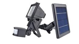 Deutschland Solar Energy Lawn Lampe Industrie Außenleuchte SL - 60 LED Superhelle wasserdichte solarbetriebene PIR Bewegungsmelder Türwand cheap industry power Versorgung