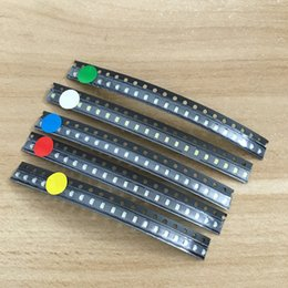 Wholesale Diode Led Kit - Wholesale- 5 colors x20pcs =100pcs SMD 0805 led Super Bright Red Green Blue Yellow White Water Clear LED Light Diode Free Shipping! KIT