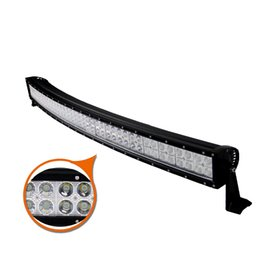 Wholesale Led Roof Light Bar - 32 inch 180W Curved Spot Flood Combo Beam LED Work Light Bar for Offroad Roof Front Driving Fog Lamp UTE SUV ATV 4X4 Truck Jeep Ford Trailer