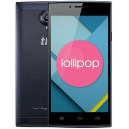 Wholesale Thl Phone Dual Sim - Original THL T6C 5.0 inch Android 6.0 Quad Core 3G Smartphone 1G RAM 8G ROM 854 x 480 Mobile Phone 5.0MP Dual Cameras Cell Phone+B