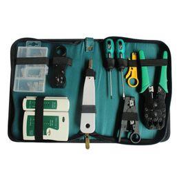 Wholesale Electrical Tools Sets - 10 Pcs Set Network Computer Maintenance Repair Tools Professional Kits