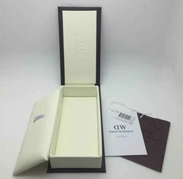 Wholesale Free Retail - Retail Luxury Brand Daniel Wellington Watch Box Dw Original Watch Box With Instructions And Manual Case 14*8*3cm Without Watch DHL Free
