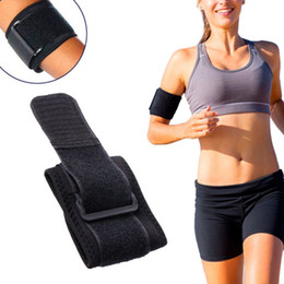 Wholesale Neoprene Wrap Fitness - Wholesale- Adjustable Tennis Fitness Elbow Support Strap Neoprene Sport Golf Pain Forearm Support Strap Band knee Wraps Pad Hot Sale