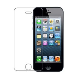 Wholesale Screen Protectors For Iphone 4s - 300PCS Explosion Proof 9H 0.3mm Screen Protector Tempered Glass for iPhone 4 4s 5 5s 5c SE