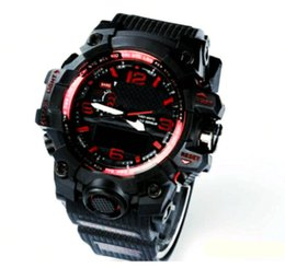Wholesale Big Bang Sport Style - 2017 New style Fashon GWG men's sports watches GW1000 Display LED Fashion army military shocking watches men Casual Watches #BIG BANG