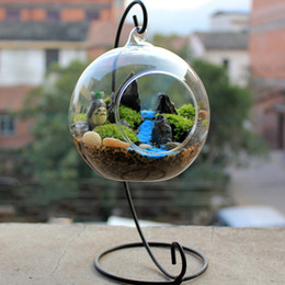 Wholesale Hanging Glass Terrariums - arty decorations and accessories Hanging Glass Vase DIY Planting Hydroponic Plant Flower Container Home Garden Decor Terrarium Home Weddi...