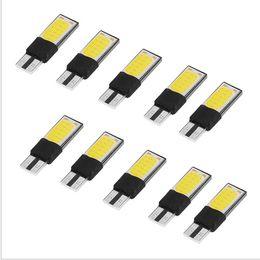 Wholesale Automobile Instruments - 80X T10 LED Car Turn Signal Light W5W COB Bulb Automobile Parking Brake Lamp