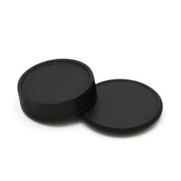Wholesale Screw Lens Camera - Wholesale-camera Body cap + Rear Lens Cap for M42 42mm Screw Mount Camera and lens free shipping