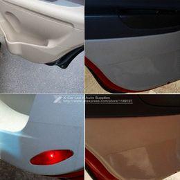 Wholesale Body Skin Glue - 10 15 20 30cm x5M Rhino Skin Sticker Car Bumper Hood Paint Protection Film PVC Vinyl Clear Transparence Film Thickness 0.2mm
