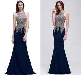 Wholesale Satin Lace Robe Long - Burgundy Lace Mermaid Long Evening Dresses 2018 Sexy Sheer Lace Appliqued Embroidery Formal Party Prom Gowns Robe de soriee CPS525 Under 60