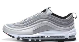 Wholesale Mag Sneakers - High Quality Racers 97 FLY Shoes OG Running Shoes Men God Sneakers Maxes 97 Breathable Cushion Mag Sports Outdoor Trainers Size36-45