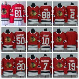 2017 Chicago 100th Blackhawks Jerseys Ice Hockey Black 88 Patrick Kane 2  Duncan Keith 19 Jonathan Toews 81 Marian Hossa 72 Artemi Panarin dec88c1af