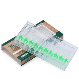 Wholesale Disposable Smoking Pipes - 120pcs lot disposable healthy cigarette holder reduce harmful ash tar cigarette filter men smoking pipe gift filtration cleaning mouthpiece