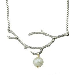 Wholesale Inspiration White - New Inspiration Design Fashion Simple Branch Necklace Gold-Color Silver Color Black Color Necklace