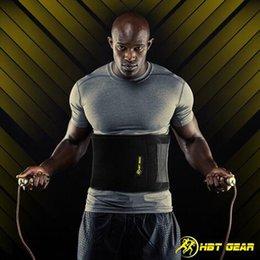 Wholesale Black Rapid Sport - Sports Abdomen Belt Adjustable Man Fitness Abdomen Belt Keep Warm Rapid Sweating With High Elasticity Slimming Belt