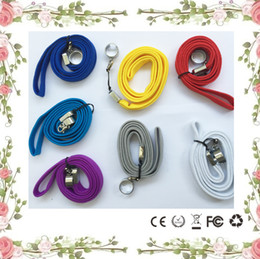 Wholesale Ego Neck Straps - Ego neck lanyard o ring clips ego necklace string lanyard chain strap for ego series ego-t ego-c ego-w battery vapor pen ecigarette ecig