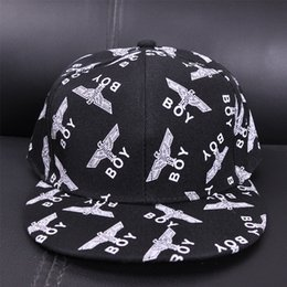 Wholesale Korean Baseball Hats - Spring and summer new flat eaves hip hop hats men and women Korean tide boy London sweet and lovely baseball cap wholesale