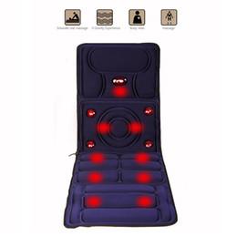 Wholesale Infrared Vibration Massager - 8 Mode Full-Body Massager Far Infrared Massage Relieve back fatigue Mattress Cushion Vibration Head Body Foot Massage Free DHL shipping