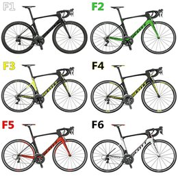 Wholesale Drop Shipping Bikes - Free shipping 2016 Newest 9 models carbon complete bike with T1100 3K Foil road bike carbon Frames 50mm carbon road bike Wheels