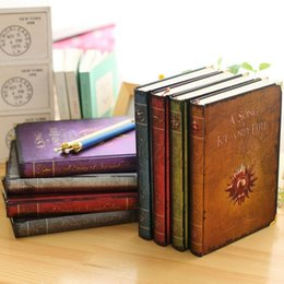 Wholesale Wholesale Vintage Diary - Game of Thrones Series European Notebook Vintage Notepad Retro Notebook Diary Books