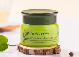 Wholesale Balance Skin - Innisfree Green Tea Balancing Cream Face Care Skin Care Cream Lotion 50ml Famous Brand Korea
