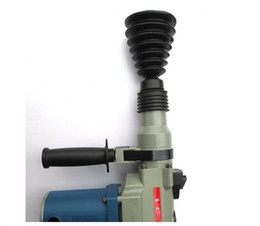 Wholesale Bowling Machines - Rubber Dust Cover Electric hammer ash bowl Dustproof device Impact drill power tool Utility accessories Herramientas