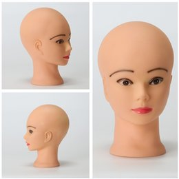 Wholesale Head Hat Stand - Female Wigs Holder Mannequin Head Hats Glasses Holder Mannequin Head Stand Model Display Scarf Jewelry Display Stand Holder