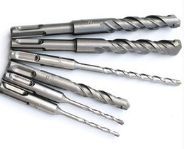 Wholesale Tungsten Tipped Drills - Free shipping of 1PC of total 150mm SDS Plus Shank hammer TCT tipped impact Drill Bits for home decoration tile brick wall drilling