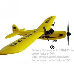 Wholesale Rc Metal Airplane - Wholesale- EPP material rc glider   radio control airplane model airplane Sea gull RTF 2CH HL803 rc airplane