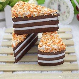 Wholesale Cakes Order - 25pcs- rare squishy 10cm brown squishy cake party gift wholesale order.