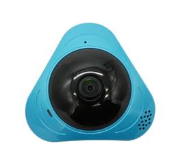 Argentina 360 grados inteligente panoramin IPC Cámara IP inalámbrica Cámara de ojo de pez Soporte de audio bidireccional P2P Monitor de bebé 960P HD 960P Cámara WIFI Suministro