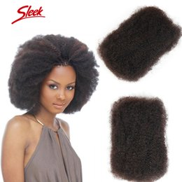 Wholesale Chinese Bulk Wholesale - Rebecca Human Hair For Braiding Peruvian Afro Kinky Curly Bulk Hair Extensions No Attachment Fast Shipping DHL Free Sleek Hair