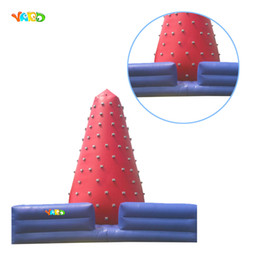 Wholesale Inflatable Climb - Party or Carnival Commercial Grade Giant Interactive Climb Game Inflatable Climbing Wall With Blower For Sale